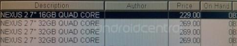 Nexus 7 mới có thể ra mắt ngày 24/7 với giá gần 5 triệu đồng