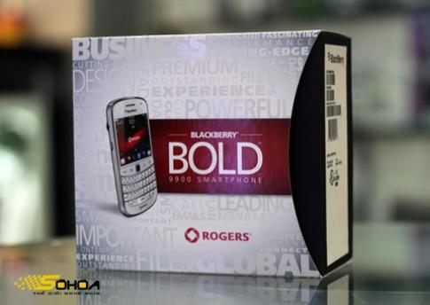 Ngắm Bold 9900 trắng đầu tiên về VN