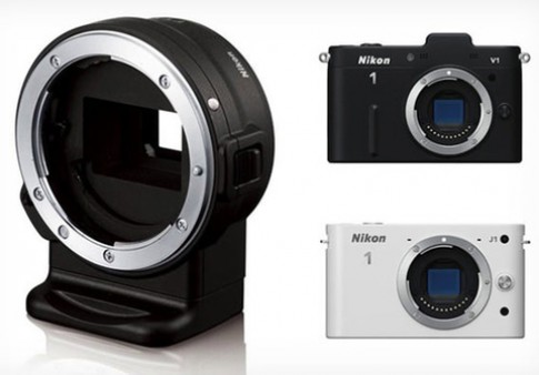 Ngàm chuyển F-mount cho máy Nikon 1 bán tuần sau