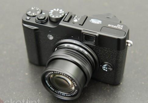Ngắm Fujifilm X10, 'đàn em' của X100