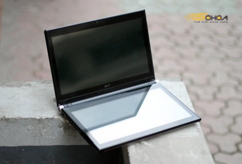 Ngắm laptop 2 màn hình của Acer tại VN