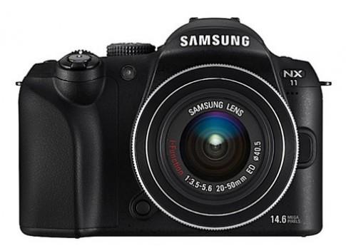 Ngắm máy ảnh 'lai' NX11 của Samsung