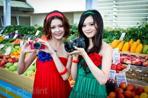 Ngắm Sony NEX-C3 các màu