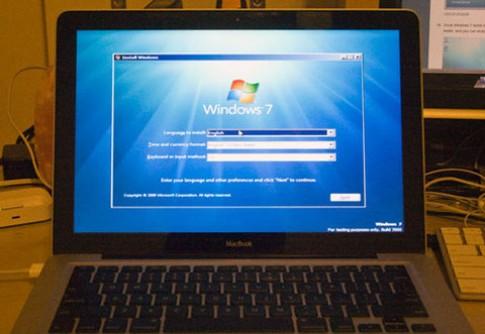 Người dùng chỉ cài được Windows 7 trên OS X Lion
