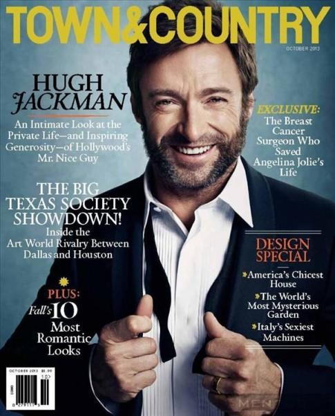 """""""Người sói"""" – Hugh Jackman sang trọng và nam tính trên Town"""