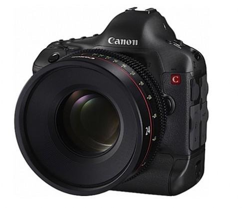 Nguyên mẫu DSLR chuyên quay phim của Canon