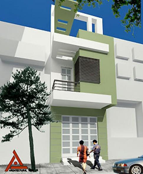 Nhà 3 tầng 4 x 13 m
