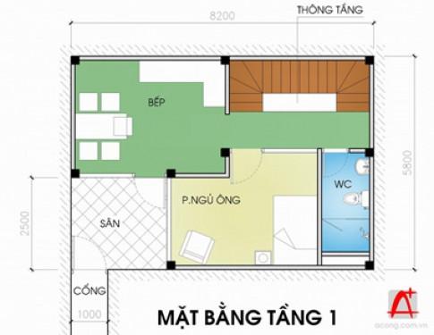 Nhà 'mặt tiền 1 m'