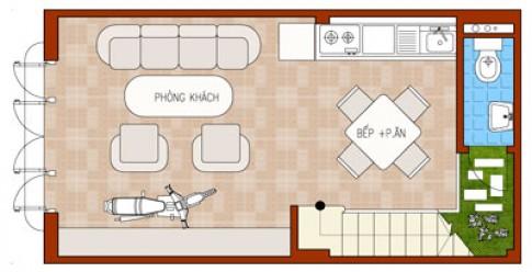 Nhà trên đất 30 m2