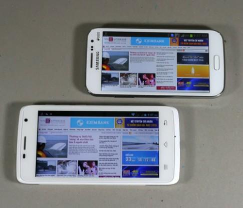 Nhiều lựa chọn smartphone màn hình 5 inch giá 8 triệu trở xuống