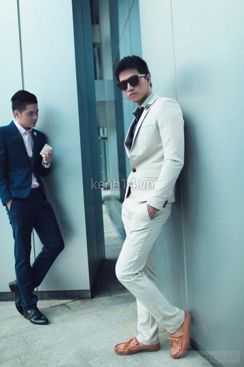 Những anh chàng thời trang và nam tính