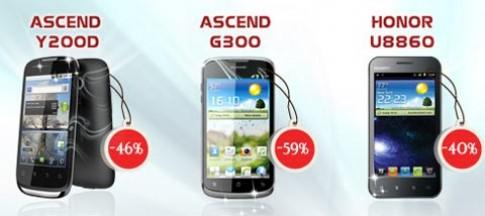 Những điện thoại giảm giá mạnh của Huawei