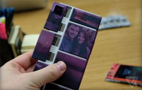 Những hình ảnh mới về điện thoại xếp hình Project Ara