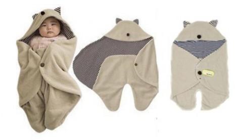 Những kiểu chăn vừa ấm vừa xinh cho bé