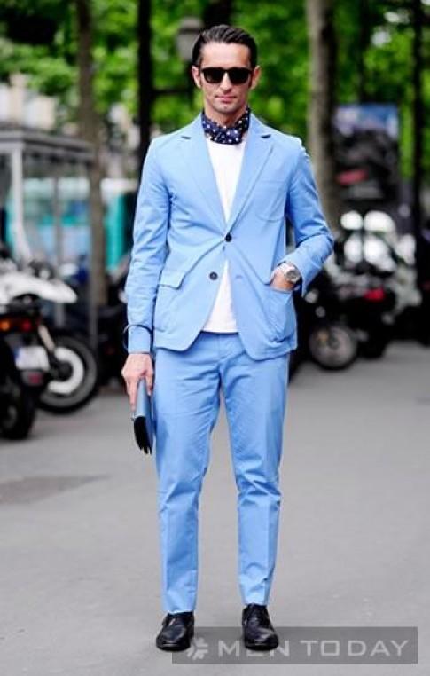Những quý ông nổi bật cùng street style màu sắc