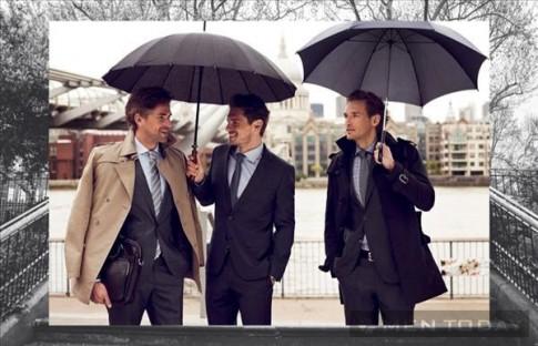 Những quý ông thu đông 2013 lịch lãm của Pierre Cardin
