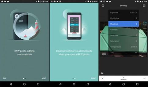 Những smartphone cao cấp chụp ảnh RAW