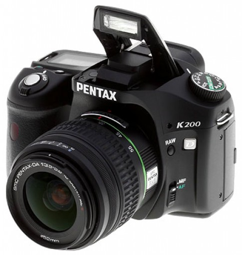 Những tính năng đặc biệt của Pentax K200D