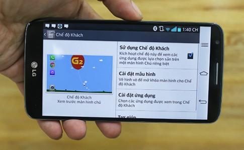 Những tính năng mới trên LG G2