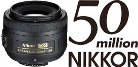 Nikon: 50 năm, 50 triệu ống kính
