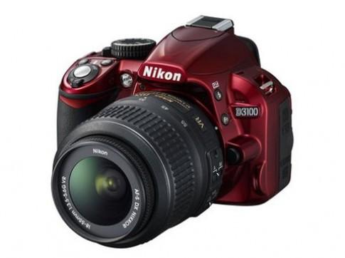 Nikon D3100 thêm bản màu đỏ