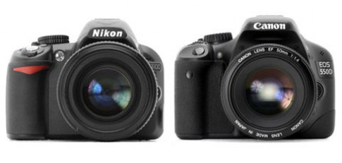 Nikon D3100 và Canon 550D so tài