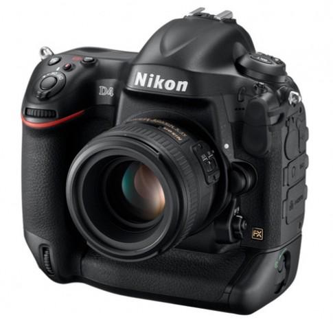 Nikon D4 trình làng, giá bán 5.999 USD