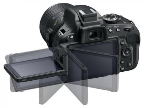 Nikon D5100 có cảm biến giống D7000