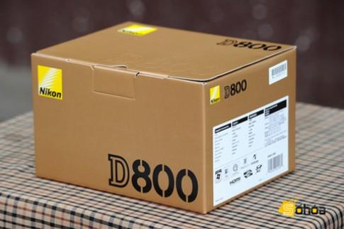 Nikon D800 về VN giá 69,2 triệu đồng