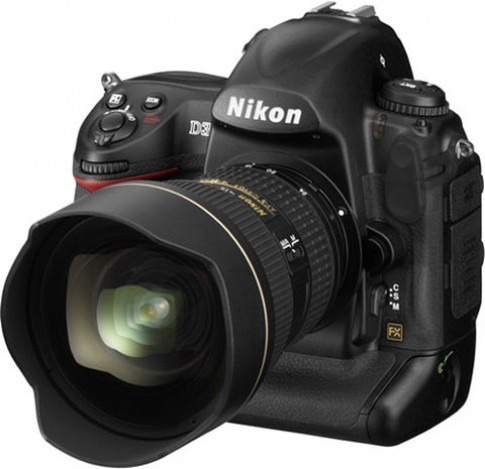 Nikon update firmware cho D3x, D3, D700 và D300S