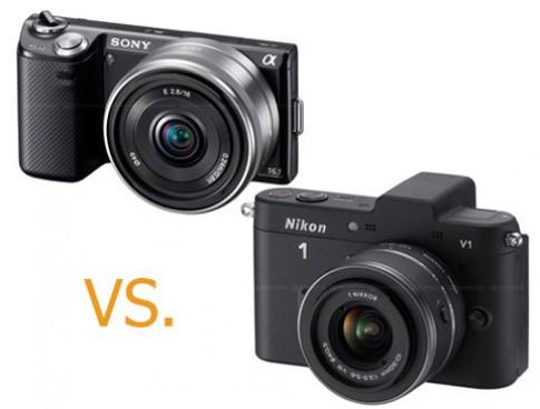 Nikon V1 đọ sức Sony NEX-5N
