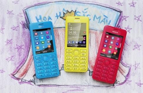Nokia 206 - chiếc điện thoại dự phòng hiện đại