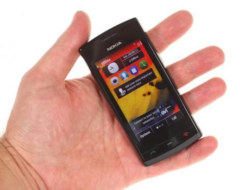 Nokia 500 bắt đầu có Symbian Bell