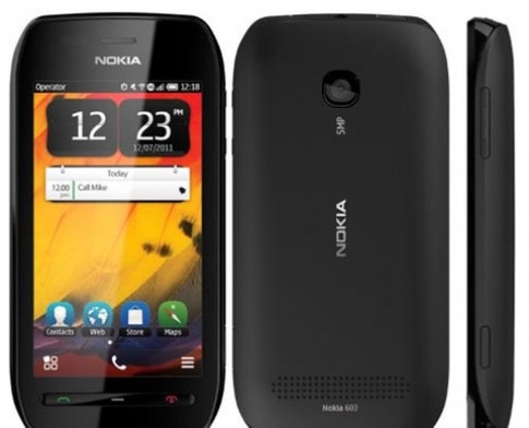 Nokia 603 chạy Symbian Belle ra mắt