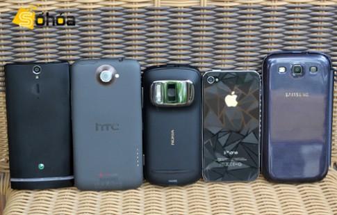 Nokia 808 đọ camera với bốn đối thủ