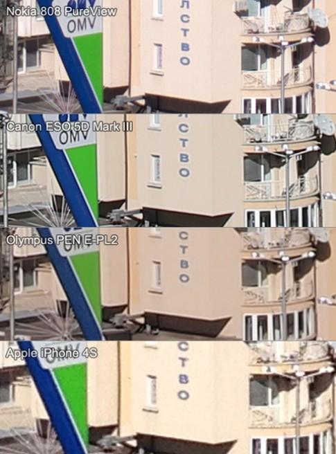 Nokia 808 PureView 'đọ' camera với Canon 5D Mark III