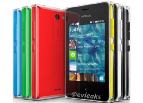 Nokia Asha 502 giá rẻ với lớp vỏ trong suốt lộ ảnh