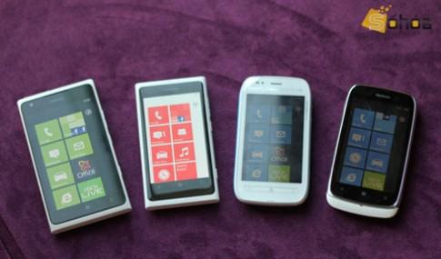 Nokia bán 2,2 triệu smartphone Lumia trong quý I/2012