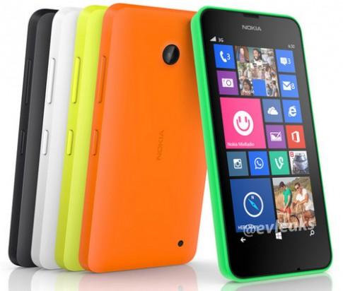 Nokia chuẩn bị tung ra Lumia 630 hỗ trợ 2 SIM