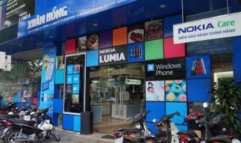 Nokia đã bán Windows Phone tại VN
