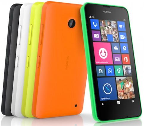 Nokia giới thiệu điện thoại Lumia đầu tiên có 2 SIM