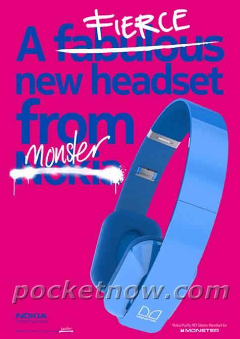 Nokia hợp tác với Monster sản xuất tai nghe