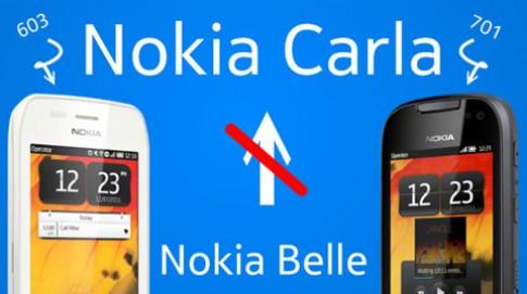 Nokia hủy bỏ dự án Symbian Carla