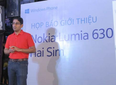 Nokia Lumia 630 về Việt Nam với giá 3,5 triệu đồng