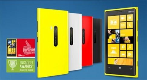 Nokia Lumia 920 màn hình cảm ứng chuẩn HD
