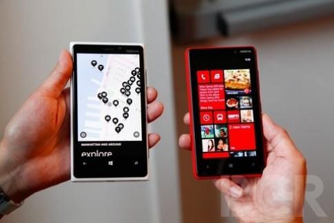 Nokia Lumia 920 và 820 giá từ 640 USD
