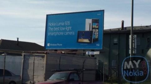 Nokia Lumia 928 chưa ra mắt đã được quảng cáo