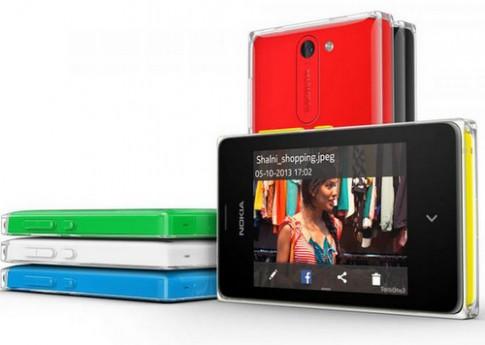 Nokia nâng cấp phần mềm cho điện thoại Asha