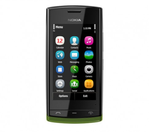 Nokia ra dien thoai Symbian toc do 1GHz