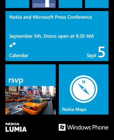 Nokia và Microsoft tổ chức sự kiện Windows Phone đầu tháng 9